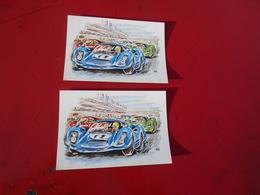 2 Cartes 24 Heures Du Mans - Le Mans