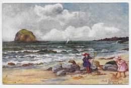 North Berwick - The Bass Rock - Tuck Oilette 7214 - Berwickshire