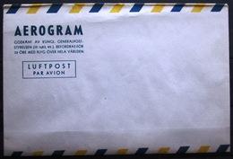 SUEDE                       AEROGRAMME       NEUF - Unused Stamps