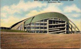 Alabama Montgomery State Coliseum Alabama Agricultural Center Curteich - Montgomery