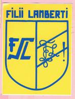 Sticker - FILII LAMBERTI - Autocollants