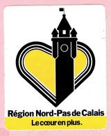 Sticker - Région Nord-Pas De Calais - Le Coeur En Plus - Autocollants