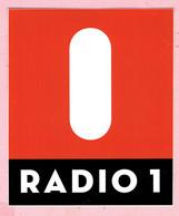 Sticker - RADIO 1 - Autocollants
