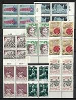 Österreich / Austria 1969, 8x Block Of 4 - 1945-.... 2. Republik