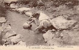 MAROC - La Provision D'eau - Photographe Maillet - Très Bon état - 2 Scans - Händler