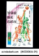 VIETNAM - 1996 OLYMPIC GAMES, ATLANTA / BASKETBALL - MIN/SHT MNH - Basketball