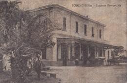 Bordighera-Stazione Ferroviaria-Integra-Originale100%an2 - Imperia