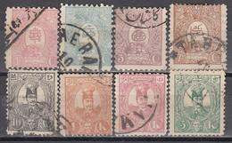 IRAN 1889 - MiNr: 63 - 70 Komplett  Used - Iran