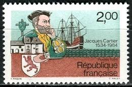 A13-21-8) Frankreich - Mi 2439 = Y 2307 - ** Postfrisch - 200c    Jacques Cartier - France