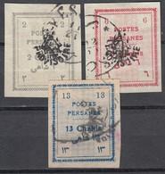 IRAN 1906 - MiNr: 227 - 232 Lot 3x   Used - Iran