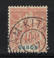 """Gabon - Yvert 26 Oblitéré """"SAM KITA""""  - Scott#26 - Gabun (1886-1936)"""
