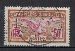 Saint-Pierre-et-Miquelon - Yvert 115 Oblitération Maritime - Scott# - Oblitérés