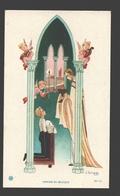 Religious Picture / Image Pieuse - Naïf / Naive - Ca 11 X 6,6 Cm - J. Gouppy - Illustratoren & Fotografen