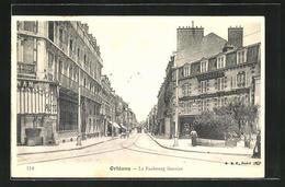 CPA Orléans, La Faubourg Bannier, Partie Avec Pharmacie Normale - Francia