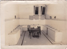 SALA DE IMPRESIONES DIGITALES, SANTA FE, ARGENTINA. PHOTO ORIGINAL YEAR 1938. SIZE 16.5x12cm  - BLEUP - Places