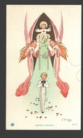 Religious Picture / Image Pieuse - Naïf / Naive - Ca 11 X 6,6 Cm - J. Gouppy - Andere Illustrators