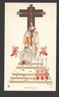 Religious Picture / Image Pieuse - Naïf / Naive - Ca 11 X 6,6 Cm - J. Gouppy - Illustrateurs & Photographes