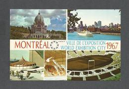 EXPOSITIONS - EXPO67 - EXPO 67 - MONTRÉAL - QUÉBEC - ORATOIRE ST JOSEPH - CIRQUE MARIN ALCAN - AUTOSTADE - Expositions