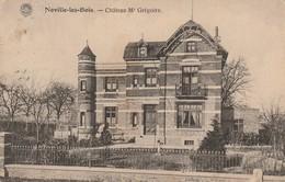 Noville Les Bois   Chateau De Mr Grégoire Circulé En 1924 Ne Possède Plus De Timbre - Fernelmont