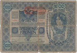 Austria 1000 Kronen 1919 Pk 61  Ref 5 - Austria