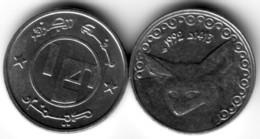 Algérie - Pièce De 1/4 De DA  Neuve FDC - 1992/1413 - Fennec - - Algérie