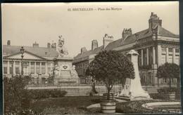 BRUXELLES :  Place Des Martyrs - Petits Métiers