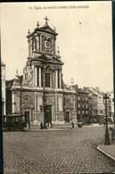 BRUXELLES :  St Josse : L'EGLISE   Tram Hyppique - St-Joost-ten-Node - St-Josse-ten-Noode
