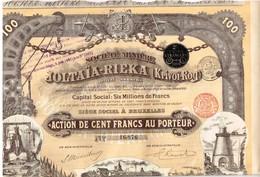 Titre Ancien - Société Minière Joltaïa-Rieka (Krinoï-Rog) - Titre De 1899 - N° 16876 - Déco - Russie