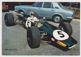 1448/ BRABHAM F-2, Alan Rees. Montjuich 1968. - Non écrite. Unused. No Escrita. Non Scritta. Ungelaufen. - Grand Prix / F1