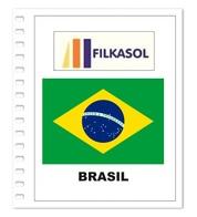 Suplemento Filkasol Brasil 2018 - Ilustrado Para Album 15 Anillas - Pre-Impresas