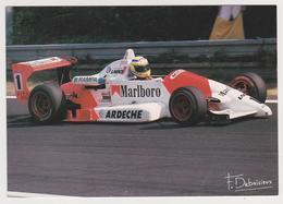 1450/ (F-1 Grand Prix - Photo F. Debaisieux, 1990). ARDECHE. MARLBORO. - Non écrite. Unused. Non Scritta. Ungelaufen. - Grand Prix / F1