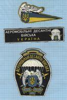 UKRAINE / Patch, Abzeichen, Parche, Ecusson / Airborne Amphibious Troops. Eagle. 1995 - Blazoenen (textiel)