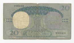 Congo 20 Francs 15-05-1962 - Democratic Republic Of The Congo & Zaire