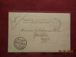 Carte Avec Cachet De Port Said Et Cachet Ismailia De 1907 - 1866-1914 Khédivat D'Égypte
