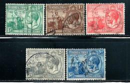 """Trinidad & Tobago     """"Britanna & George V""""     SC# 21-25   Used - Trinidad & Tobago (...-1961)"""