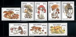 "Maldive Islands      ""Mushrooms""       Set    SC# 1221-28    MNH - Maldives (1965-...)"
