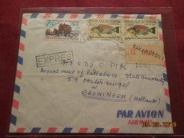 Lettres De 1967  A Destination Des Pays-Bas En Recommande - Senegal (1960-...)