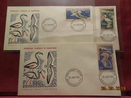 Lettre De 1961 (fdc) Avec Poste Aerienne  3 Enveloppes (serie Oiseaux) - Mauritania (1960-...)