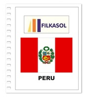 Suplemento Filkasol Peru 2018 - Ilustrado Para Album 15 Anillas - Álbumes & Encuadernaciones