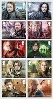 Great Britain 2018 - Game Of Thrones Stamp Set Mnh - 1952-.... (Elizabeth II)