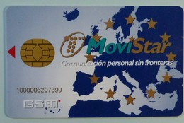 SPAIN - GSM Chip - Movistar - M-GSM-012 - 11/95 - Used - Espagne