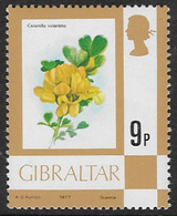 Gibraltar SG382 1977 Definitive 9p Unmounted Mint [39/31986/2D] - Gibraltar
