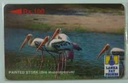 SRI LANKA - GPT - 21SRLA  - Rs 100 - Painted Stork - Mint Blister - Sri Lanka (Ceylon)