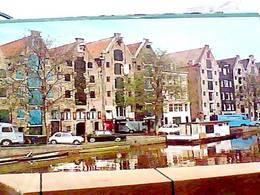 HOLLAND AMSTERDAM  AUTO CAR VIEUX MAGAZIN CANAL V1968 HA8297 - Amsterdam