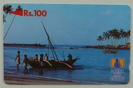 SRI LANKA - GPT - Rs 100 - Boat - Without Control - Sri Lanka (Ceylon)