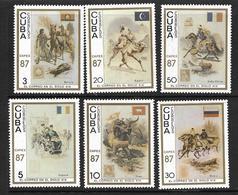 CUBA 1987 CAPEX'87 YVERT N°2779/84  NEUF MNH** - Cuba