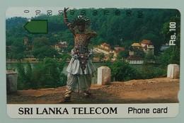 SRI LANKA - Anritsu - Dancer - VF Used - Sri Lanka (Ceylon)