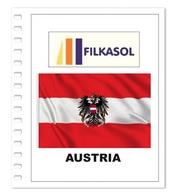Suplemento Filkasol Austria 2018 - Ilustrado Para Album 15 Anillas - Álbumes & Encuadernaciones