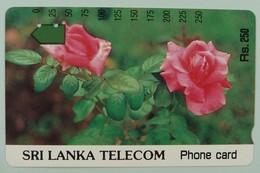 SRI LANKA - Anritsu - Roses Rs. 250 - VF Used - Sri Lanka (Ceylon)