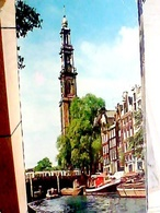 HOLLAND  NEDERLAND AMSTERDAM  WESTERN  TOWER TRAM  VB1969 HA8303 - Amsterdam